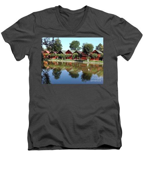 Summer Reflections  Men's V-Neck T-Shirt