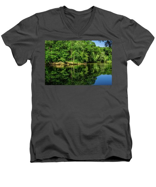 Summer Reflections Men's V-Neck T-Shirt