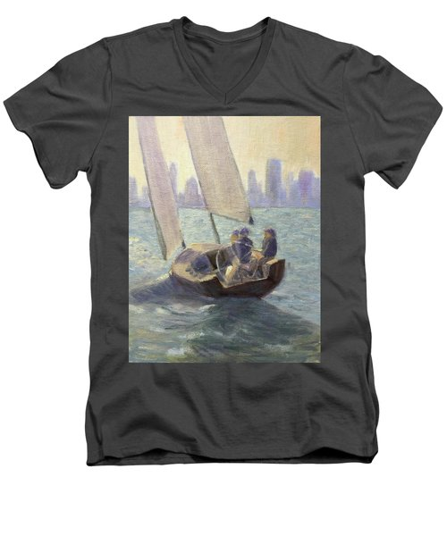 Summer Sail Men's V-Neck T-Shirt