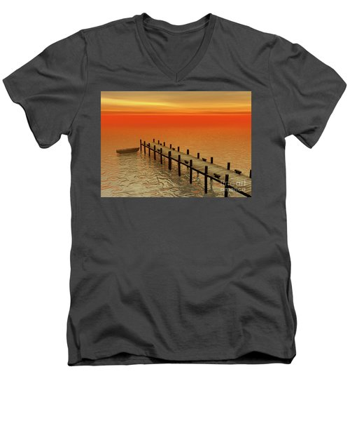 Summer Serenity Men's V-Neck T-Shirt