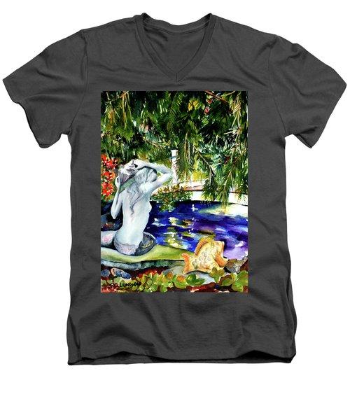 Summer Splendor Men's V-Neck T-Shirt