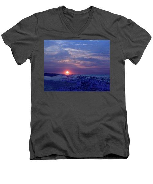 Summer Sunrise I I Men's V-Neck T-Shirt