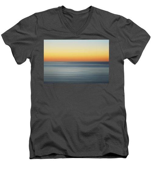 Summer Sunset Men's V-Neck T-Shirt by Az Jackson