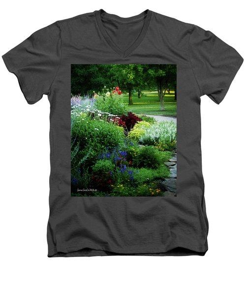 Summer View Men's V-Neck T-Shirt