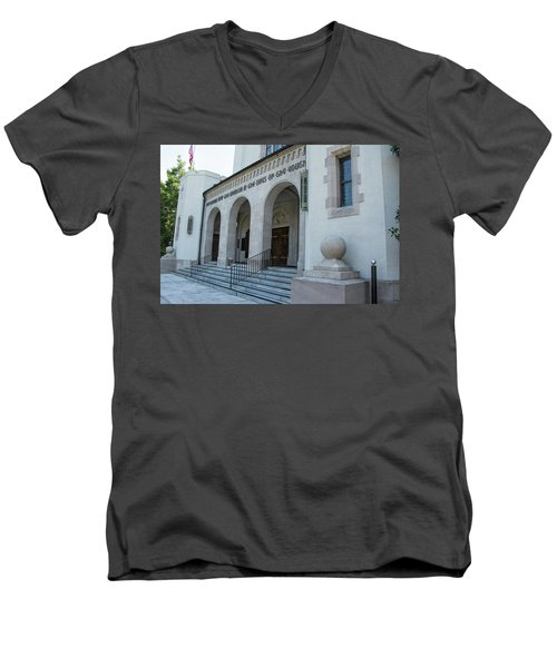 Summerall Chapel II Men's V-Neck T-Shirt