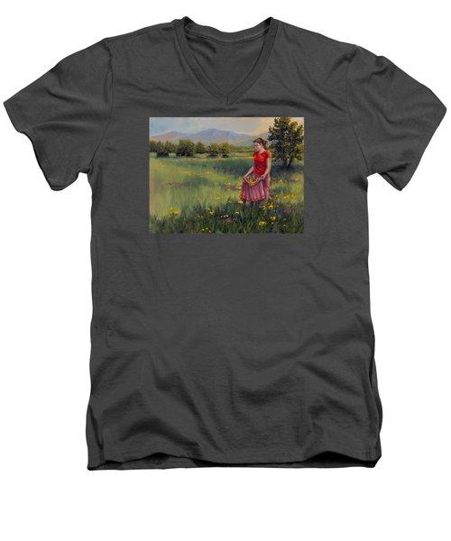Summers Bounty Men's V-Neck T-Shirt