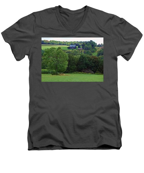 Summer's Last Hurrah Men's V-Neck T-Shirt