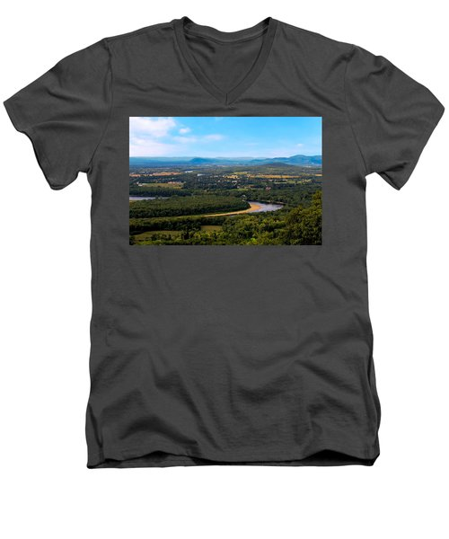 Summit House View Men's V-Neck T-Shirt