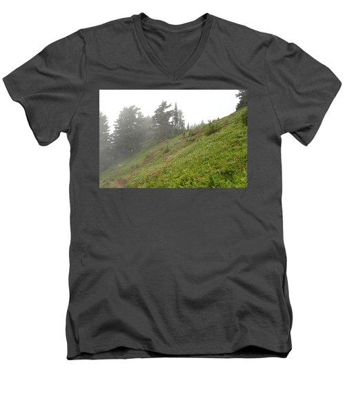 Summit Shroud Men's V-Neck T-Shirt
