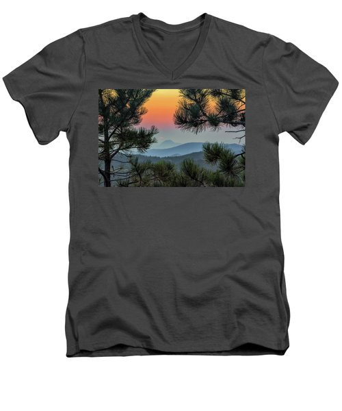 Sun Appears Men's V-Neck T-Shirt