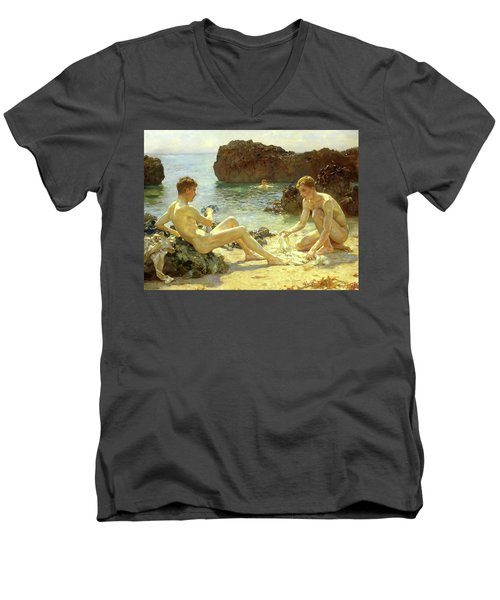 Sun Bathers Men's V-Neck T-Shirt