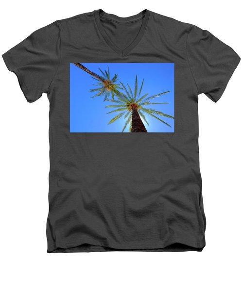 Sun Bed View Men's V-Neck T-Shirt