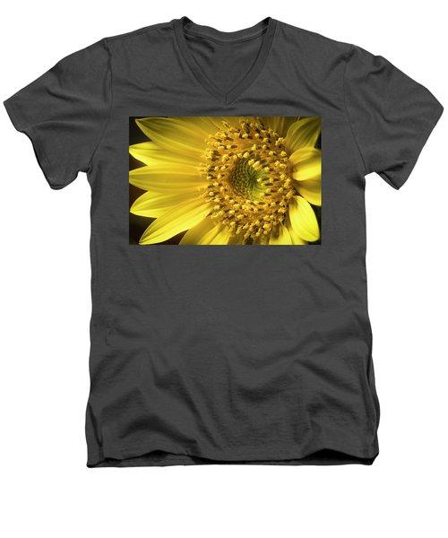 Sun Burst Men's V-Neck T-Shirt