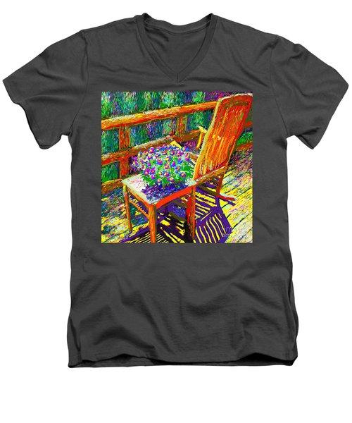 Sun Dance On Deck Men's V-Neck T-Shirt