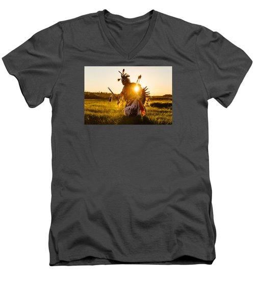 Sun Dance Men's V-Neck T-Shirt