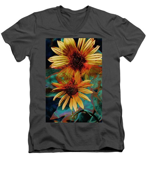 Sun Godess Men's V-Neck T-Shirt