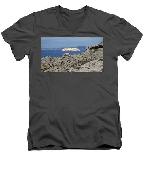 Sun Kissed Island Men's V-Neck T-Shirt