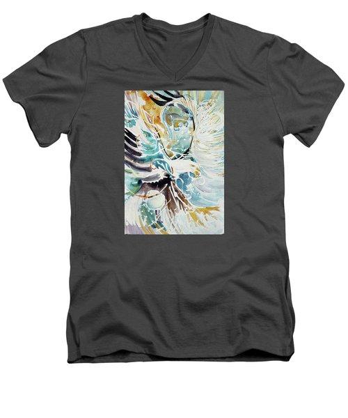 Sun Moon Water Sky Men's V-Neck T-Shirt