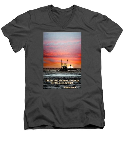 Sun Nor Moon Men's V-Neck T-Shirt
