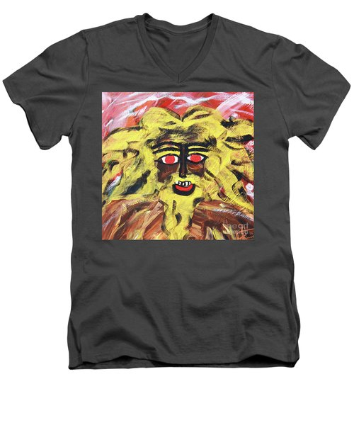 Sun Of Man Men's V-Neck T-Shirt