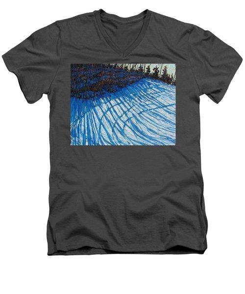 Sun Of Winter Shadows Men's V-Neck T-Shirt