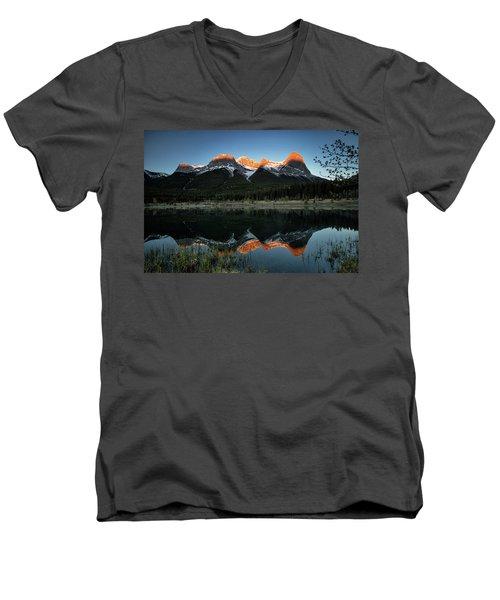 Sun Peaks Men's V-Neck T-Shirt