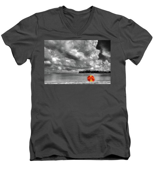 Sun Shade Men's V-Neck T-Shirt