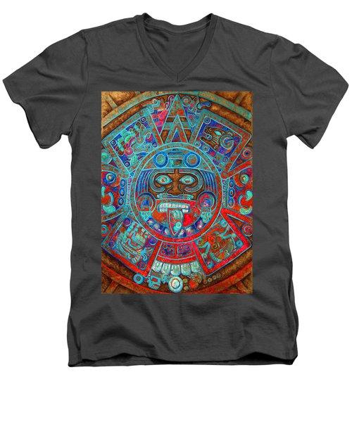 S U N  . S T O N E Men's V-Neck T-Shirt