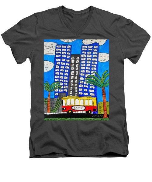 Sun Trolley Men's V-Neck T-Shirt