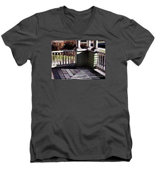 Sun Writ Men's V-Neck T-Shirt by Betsy Zimmerli