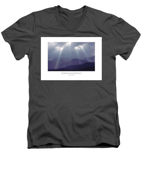 Sunbeams Over Derwent Men's V-Neck T-Shirt