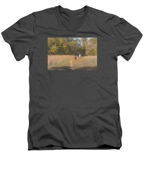 Sunday Afternoon Walk Men's V-Neck T-Shirt