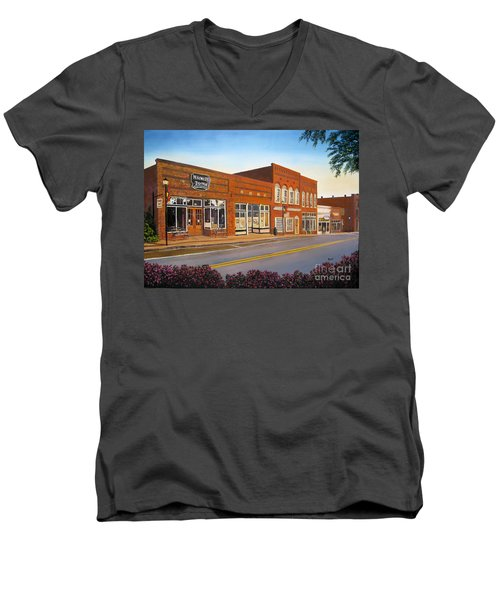 Sunday In Waxhaw Men's V-Neck T-Shirt