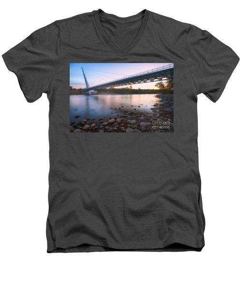 Sundial Bridge 7 Men's V-Neck T-Shirt