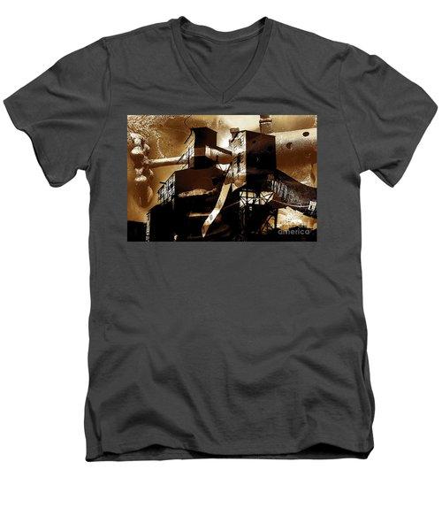 Appalachian Sundown  Men's V-Neck T-Shirt
