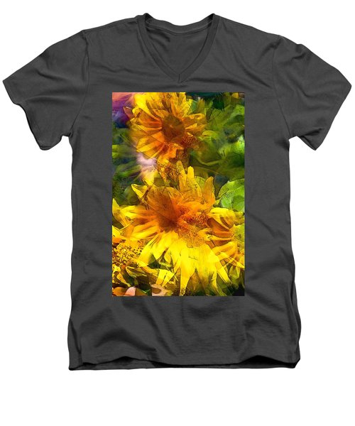 Sunflower 6 Men's V-Neck T-Shirt