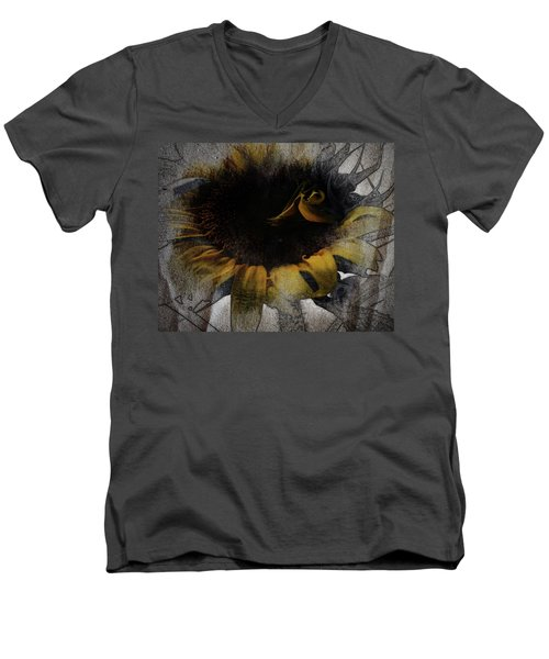 Sunflower Canvas Men's V-Neck T-Shirt