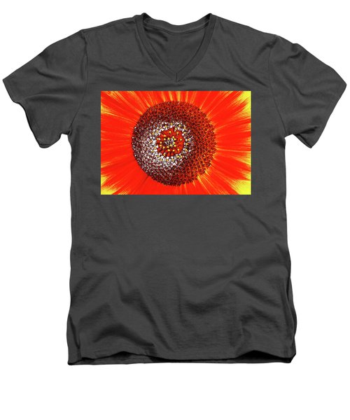Sunflower Close Men's V-Neck T-Shirt
