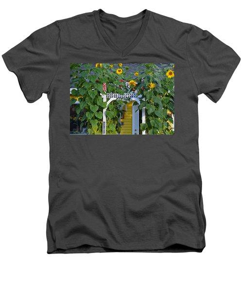 Sunflower Roads Men's V-Neck T-Shirt