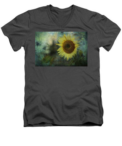 Sunflower Sea Men's V-Neck T-Shirt