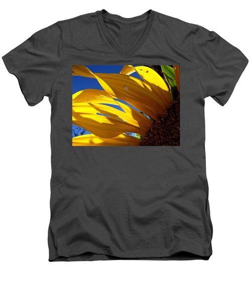 Sunflower Shadows Men's V-Neck T-Shirt