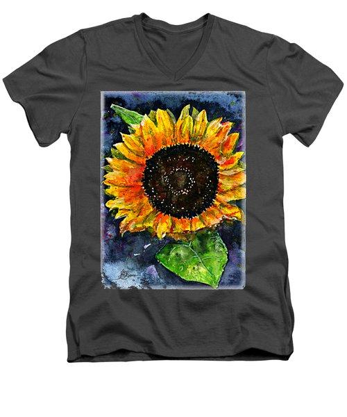 Sunflower Shirt Men's V-Neck T-Shirt
