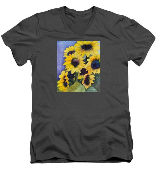 Sunflowers 17 Men's V-Neck T-Shirt
