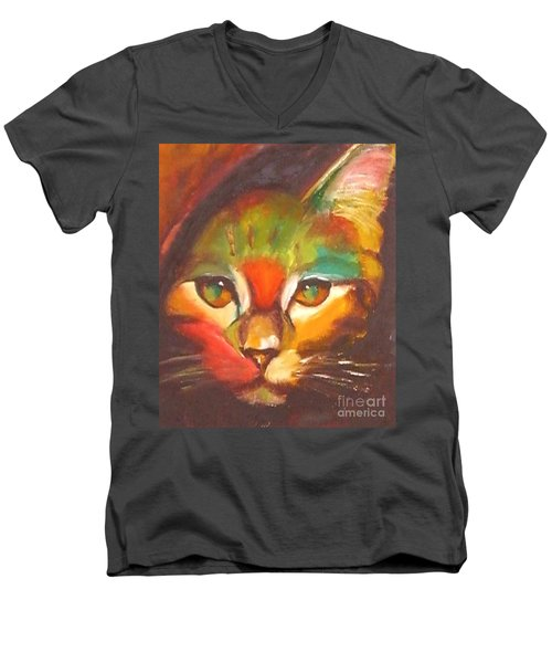 Sunkist Men's V-Neck T-Shirt