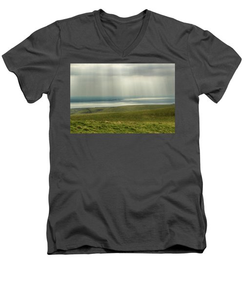 Sunlight On The Irish Coast Men's V-Neck T-Shirt
