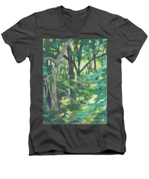 Sunlit Backyard Men's V-Neck T-Shirt