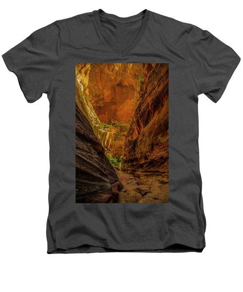Sunlit Colors In The Slot Men's V-Neck T-Shirt