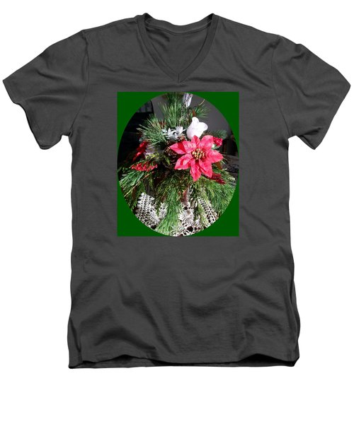 Sunlit Centerpiece Men's V-Neck T-Shirt