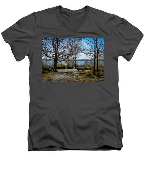 Sunny Afternoon At Lough Coole Men's V-Neck T-Shirt