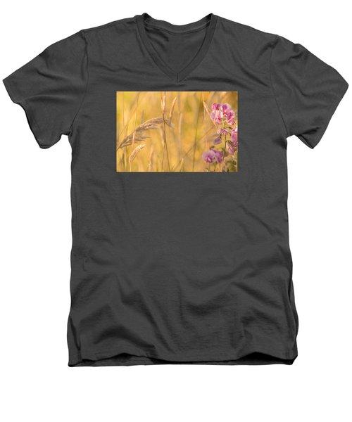 Sunny Garden 2 Men's V-Neck T-Shirt